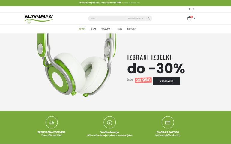 demo spletna trgovina